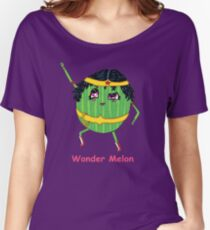 Wonder Melon Women's Relaxed Fit T-Shirt