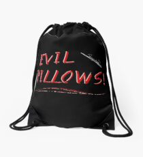 Evil Pillows! Drawstring Bag