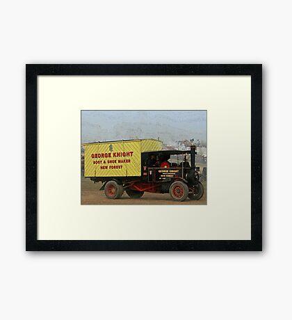 Foden Steam Lorry Framed Print