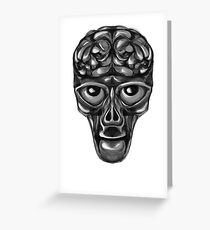 Zed Greeting Card