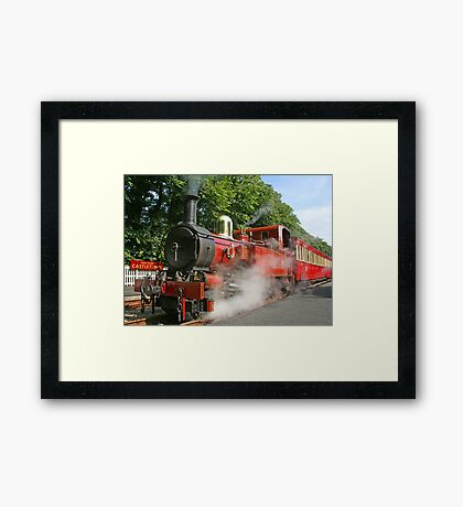 Hutch In Steam Framed Print