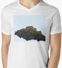Edinburgh Castle Men's V-Neck T-Shirt