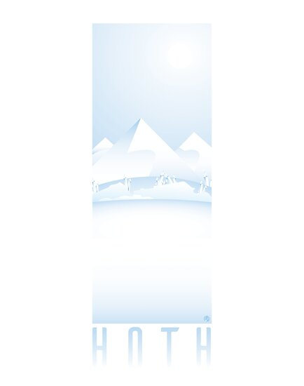 Cold, Blinding Hoth by Hayley R. Howard