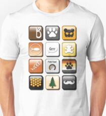 Bear Phone Apps  Unisex T-Shirt