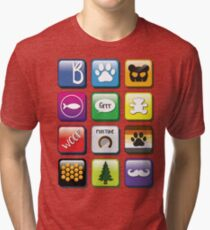 Gay Phone Apps  Tri-blend T-Shirt