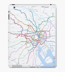 Tokyo subway metro map iPad Case/Skin