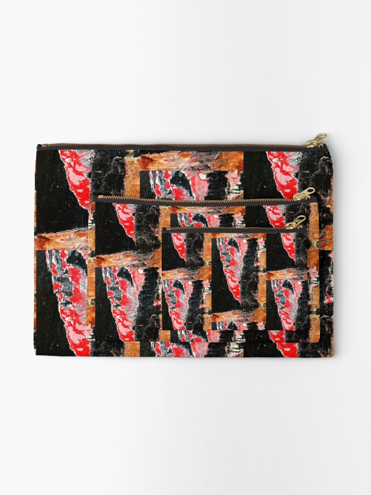 Alternate view of Red Devil Zipper Pouch