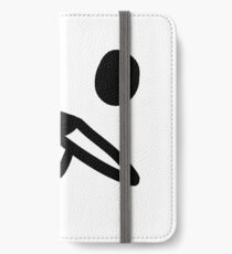 GONDOLA FACE WITH MOUTH iPhone Wallet/Case/Skin