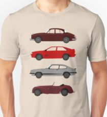 The Car's The Star: UK Detectives T-Shirt