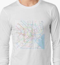 Tokyo subway metro map T-Shirt