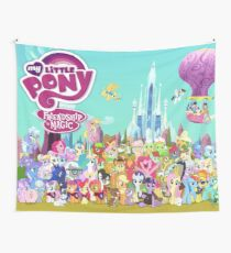 my little pony friendship is magic Wall Tapestry