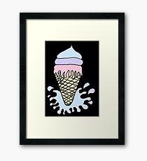 Cool Ice Framed Print