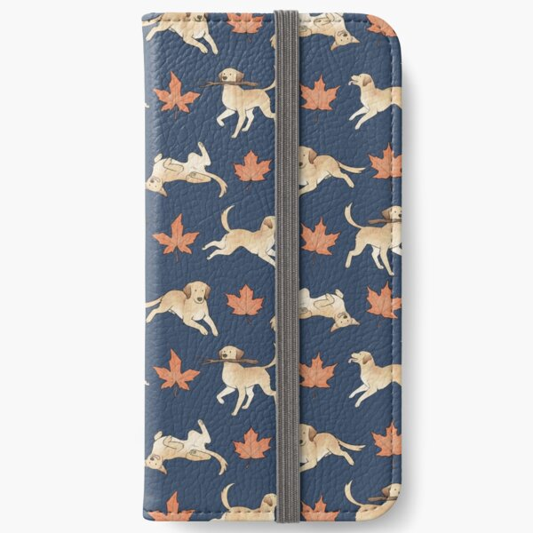 Yellow  Lab Love iPhone Wallet