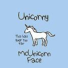 Unicorny McUnicornface by jezkemp