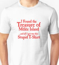 The treasure of monkey island Unisex T-Shirt