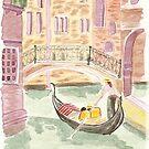 « Le gondolier  » par Maminou61