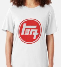 Old School Toyota Logo Slim Fit T-Shirt