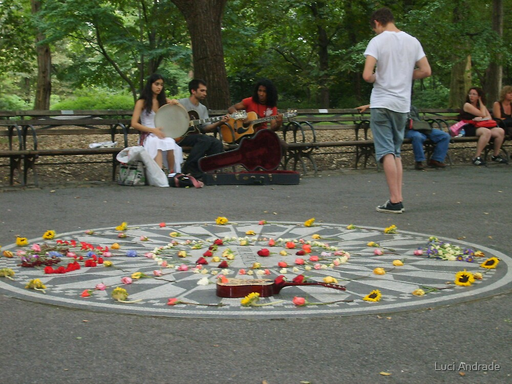 Strawberry Fields, Central Park by Luci Andrade