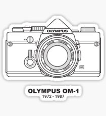 Vintage Film Photography: Olympus OM-1 Sticker