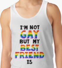 Ich bin nicht Homosexuell, aber mein bester Freund ist Tanktop für Männer