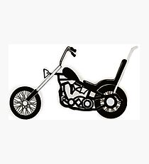 Cruiser Motorbike Photographic Print