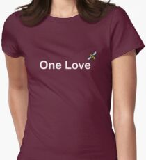 One Love Manchester Womens Fitted T-Shirt