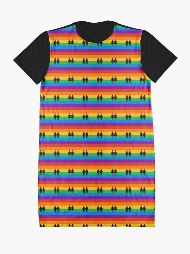 Alternate view of girl pride Graphic T-Shirt Dress