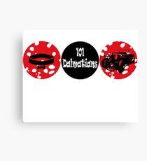 101 Dalmatians (logo) Canvas Print