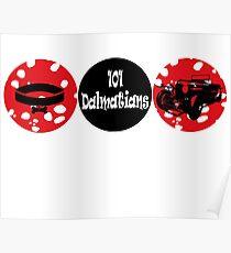 101 Dalmatians (logo) Poster