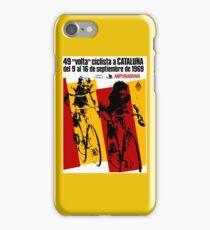 VOLTA CICLISTA CATALUNA: Vintage Bike Race Advertising Print iPhone Case/Skin