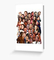 Chris Pratt Paparazzi Greeting Card