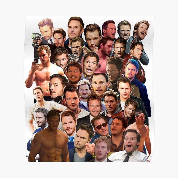 Chris Pratt Paparazzi Poster
