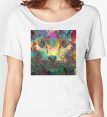 Catnip Color Perception (Electric Catnip) Women's Relaxed Fit T-Shirt