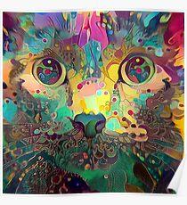 Catnip Color Perception (Electric Catnip) Poster