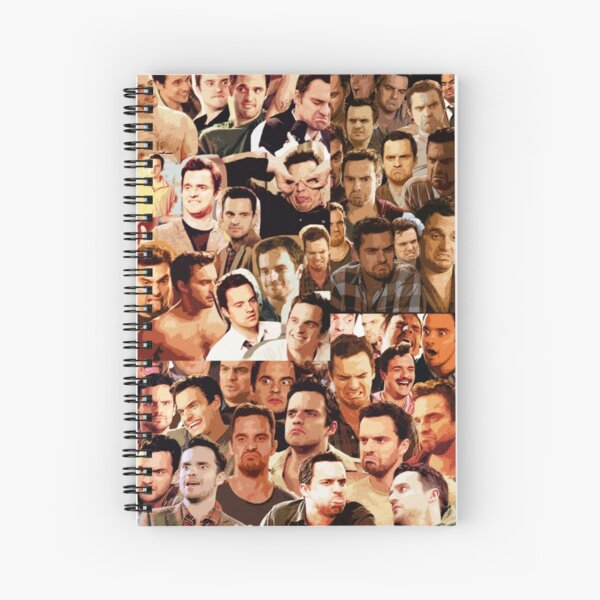 Nick Miller Paparazzi Spiral Notebook