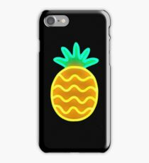 Neon Pineapple iPhone Case/Skin