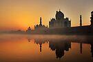 Taj Mahal at Sunrise by Heather Prince