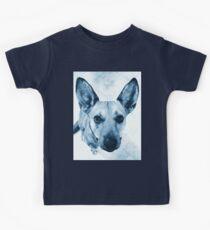 Carolina Blue Pup Kids Tee
