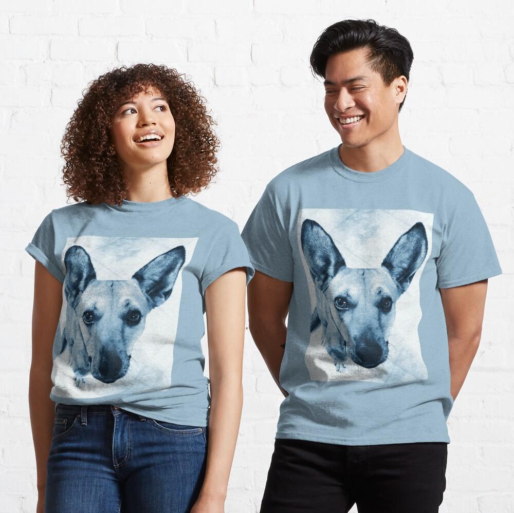Carolina Dog Blue Pup - American Dingo Classic T-Shirt