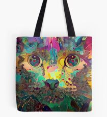 Catnip Color Perception (Electric Catnip) Tote Bag