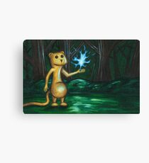The Flaming Lemming Canvas Print