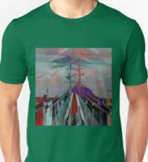 Premonitions along the road to Ghost Mountain, Panel 3 Unisex T-Shirt