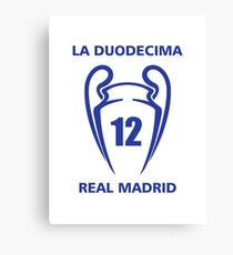 Real madrid - La Duodecima Canvas Print