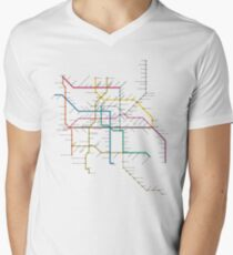 mexico city subway metro map T-Shirt