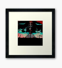 Premonitions along the road to Ghost Mountain, Panel 4 Framed Print