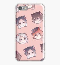 Bungou Stray Dogs Chibi Tile Heads iPhone Case/Skin