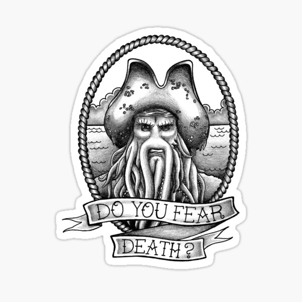 Are you afraid of death? Sticker