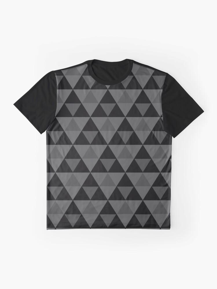 Vista alternativa de Camiseta gráfica Tri-Patrón