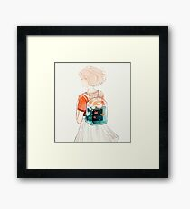 carry. Framed Print