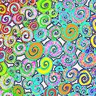 Snails in the Ocean by CarolineLembke